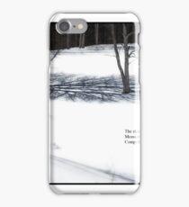 The Shadows We Cast Haiku iPhone Case/Skin