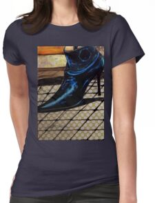 Dogs life serie - Chihuahua Model Womens Fitted T-Shirt