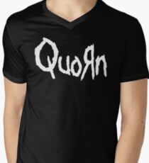 Quorn Nu Metal Vegan Vegetarian Design White Korn T-Shirt