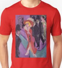 Ernst Ludwig Kirchner - Street With Red Streetwalker T-Shirt