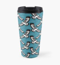 The Hawk's Flight_cerulean Travel Mug