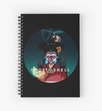 Ghost in the Shell Spiral Notebook