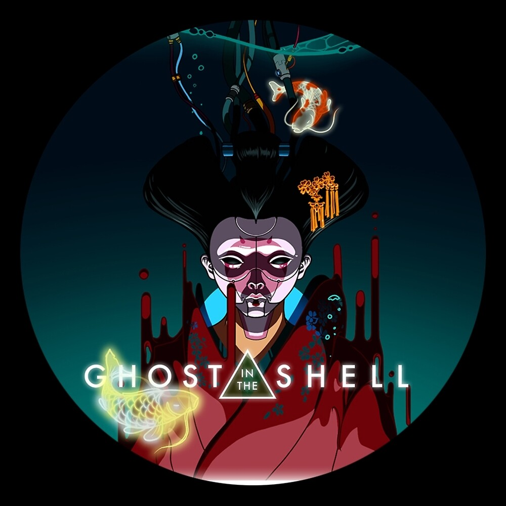 Ghost in the Shell by tomatoez