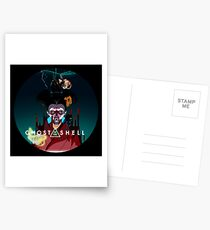 Ghost in the Shell Postcards