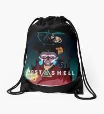 Ghost in the Shell Drawstring Bag