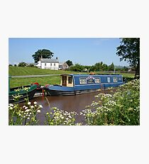 Brecon canal, Wales Photographic Print
