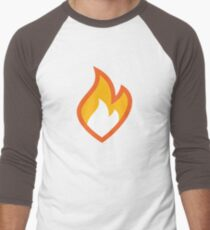 Flammable Men's Baseball ¾ T-Shirt