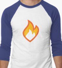 Flammable Men's Baseball ¾ T-Shirt