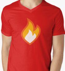 Flammable Men's V-Neck T-Shirt