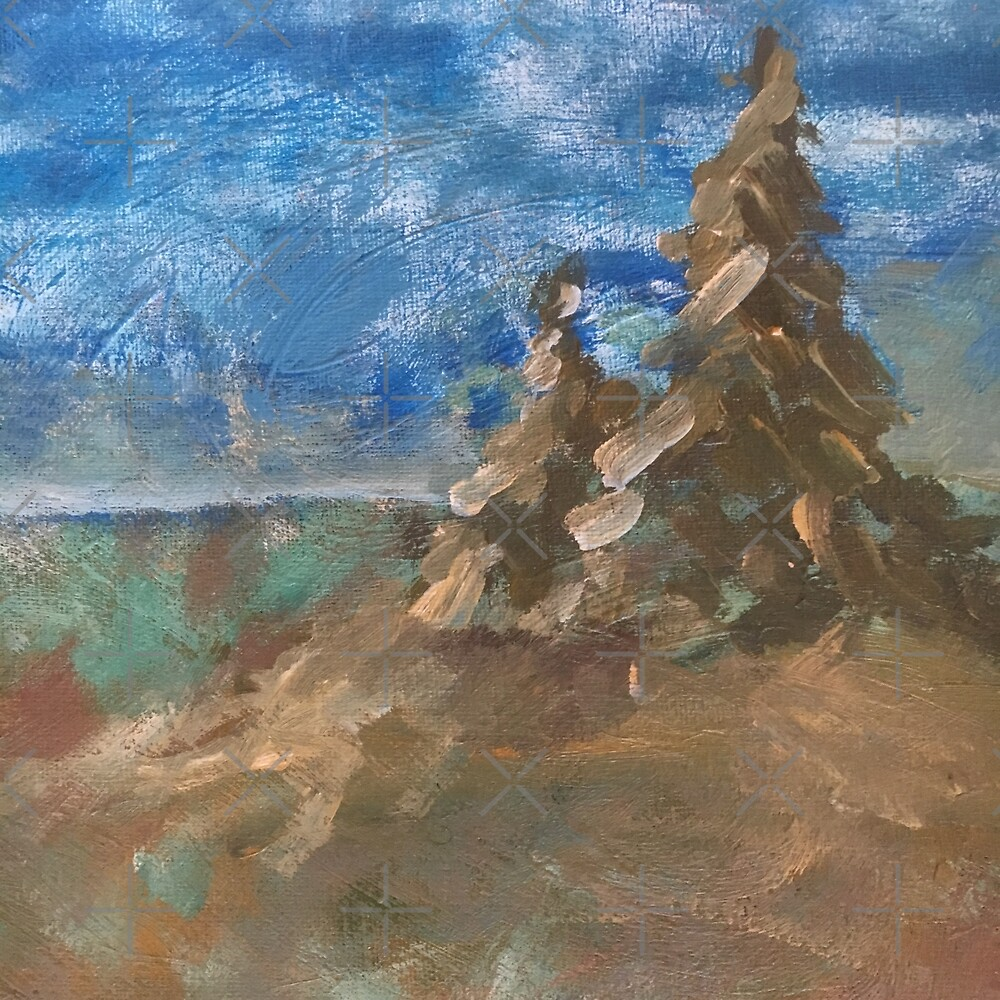 Abstract landscape VI by Jacob Thomas