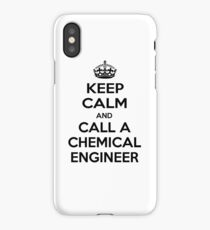 Keep Calm and Call a Chemical Engineer iPhone Case/Skin