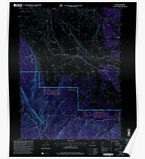 USGS TOPO Map Colorado CO Rand 234206 2000 24000 Inverted Poster
