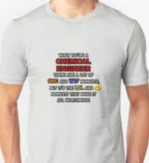 Funny Chemical Engineer ... OMG WTF LOL Unisex T-Shirt