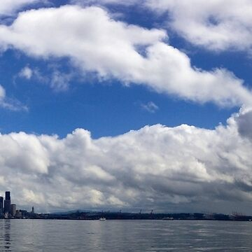 Blue Seattle by csmarshall