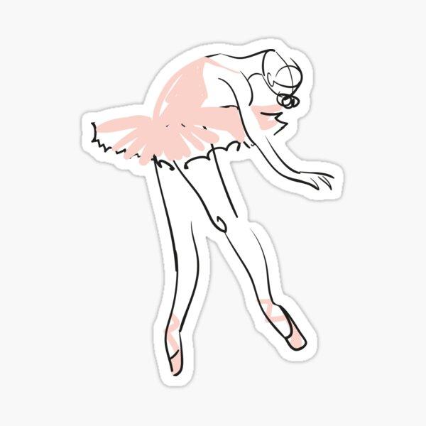 ballet dancer Sticker