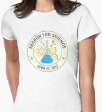 March for Science 2017 Womens Fitted T-Shirt