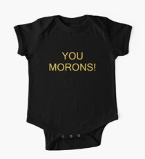 MORONS One Piece - Short Sleeve