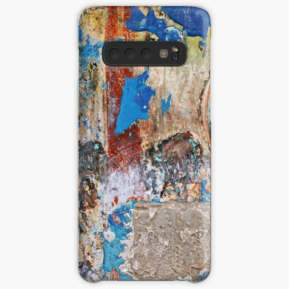 Grunge Old Paint Design Funda y vinilo para Samsung Galaxy
