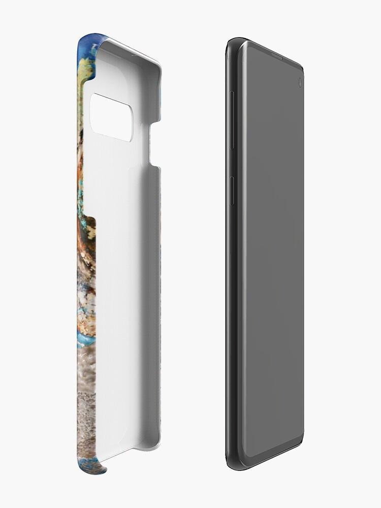 Vista alternativa de Funda y vinilo para Samsung Galaxy Grunge Old Paint Design