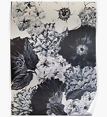 Mystic Blooms Poster