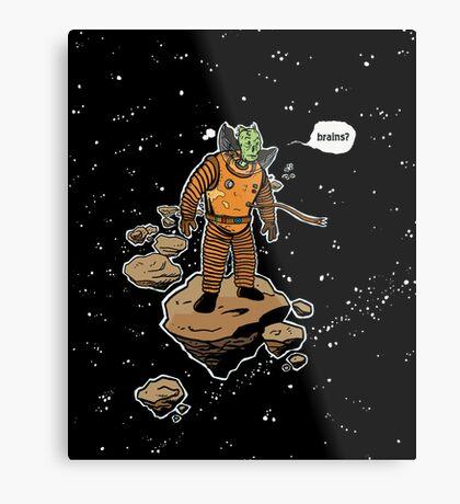 Astrozombie Metal Print