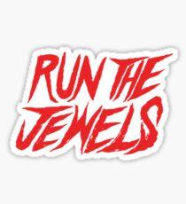 Run The Jewels Logo Sticker