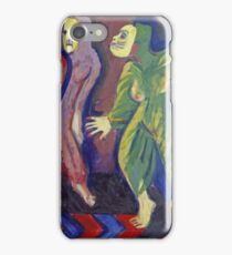 Ernst Ludwig Kirchner - Death Dance Of Mary Wigman iPhone Case/Skin