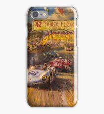 Vintage Racing Painting Nostalgic Cars iPhone Case/Skin