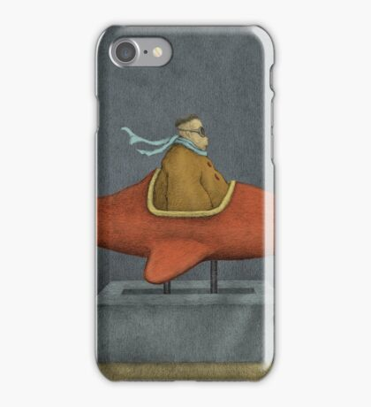 Road to Nowhere - Triptych Panel No. 3 iPhone Case/Skin