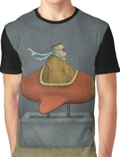 Road to Nowhere - Triptych Panel No. 3 Graphic T-Shirt