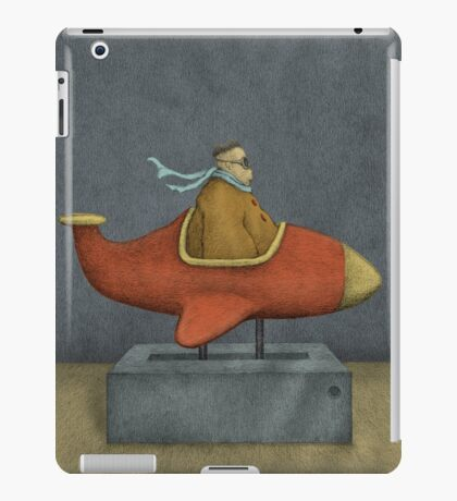 Road to Nowhere - Triptych Panel No. 3 iPad Case/Skin