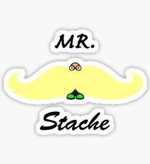 Mr. Blonde Stashe Sticker