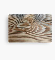 Grunge Wood Grain Old Wooden Close Up Canvas Print