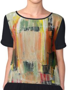 Abstract Art Fifty-Five Chiffon Top