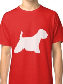 Westie are the best dogs | Dog silhouette Classic T-Shirt