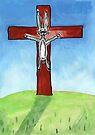 Hot Cross Bunny by John Douglas
