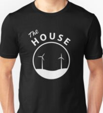The HOUSE - White Logo T-Shirt