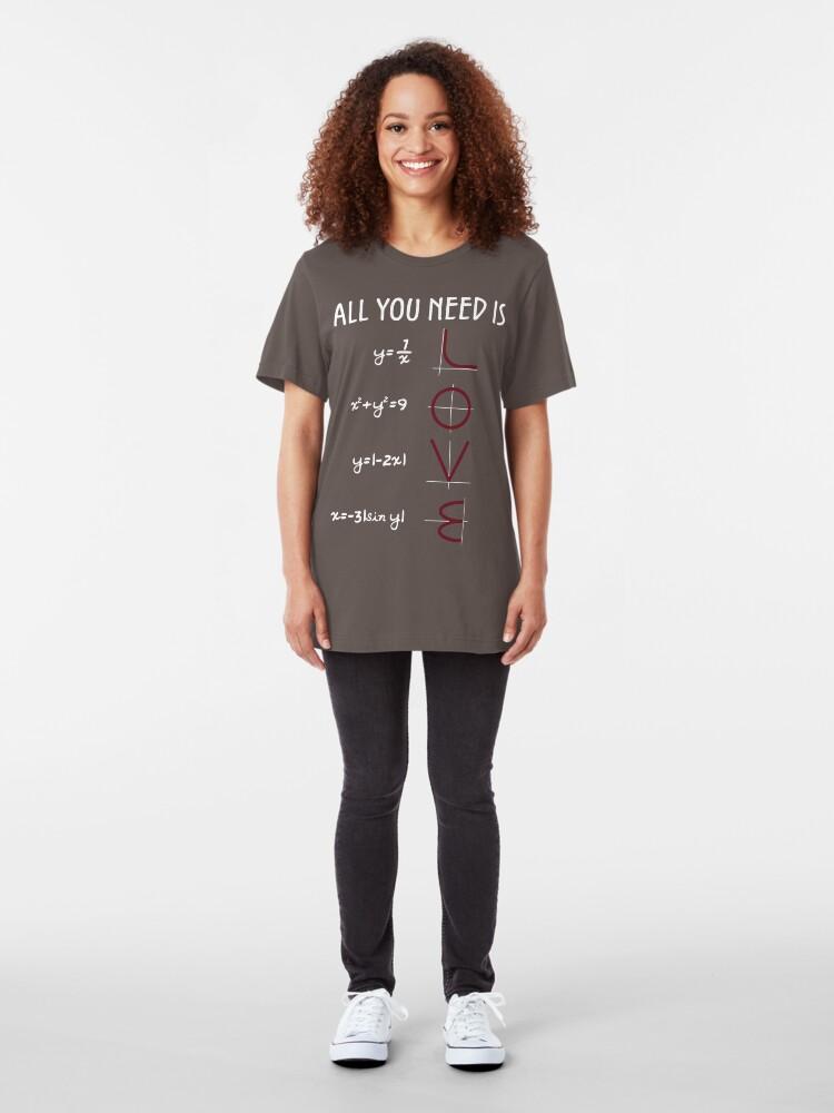 Alternative Ansicht von All you need is LOVE Slim Fit T-Shirt