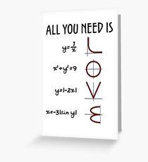 All you need is LOVE Grußkarte