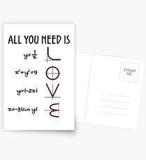 All you need is LOVE Postkarten