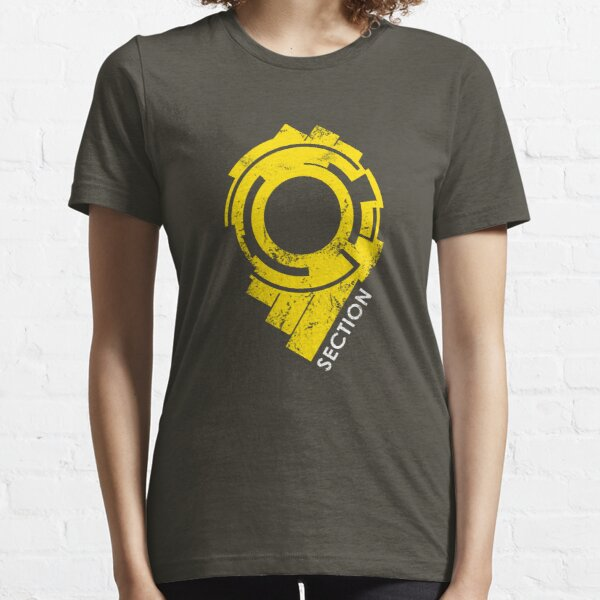 Section 9 (large logo) Essential T-Shirt