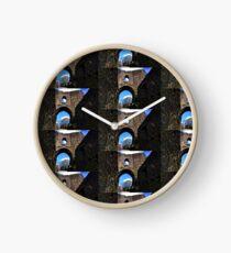 Launceston Castle-Castel Lanstefan   Cornwall UK Clock