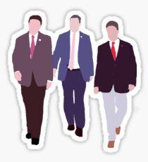 Squad Goals: Thomas Massie, Justin Amash, & Rand Paul Sticker