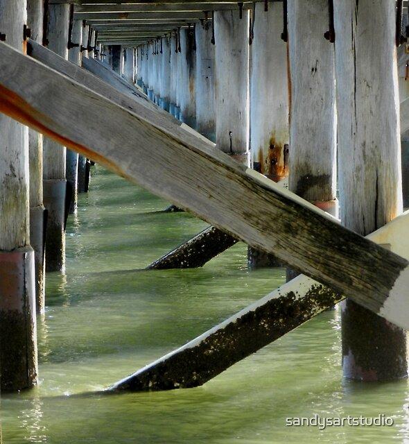 Urangan Pier Hervey Bay, Qld Australia by sandysartstudio