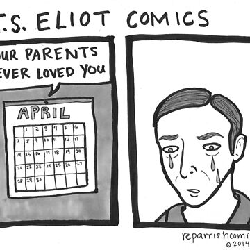 T.S. Eliot Comics by reparrish