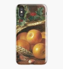 Eloise Harriet Stannard - Still Life With Apples, Hazelnuts And Holly iPhone Case