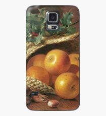 Eloise Harriet Stannard - Still Life With Apples, Hazelnuts And Holly Case/Skin for Samsung Galaxy