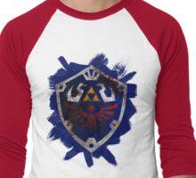 Hylian Shield Brushed Men's Baseball ¾ T-Shirt