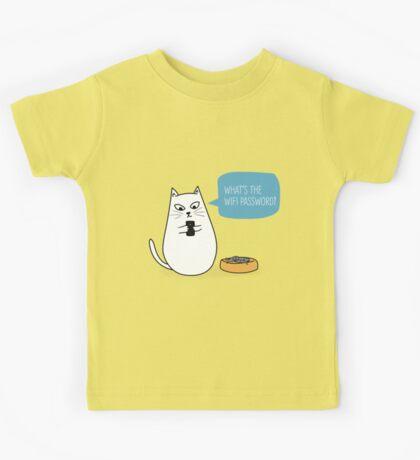 Wifi Cat Kids Clothes