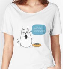 Wifi Cat Women's Relaxed Fit T-Shirt
